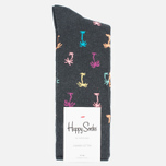Носки Happy Socks Palm Beach Grey фото- 0