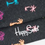 Носки Happy Socks Palm Beach Grey фото- 4