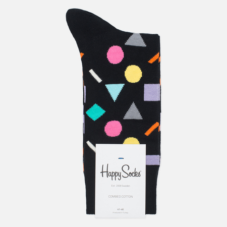 Носки Happy Socks Play Black/Blue/Grey/Green/Purple/Yellow