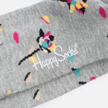 Носки Happy Socks Rose Petal Black/Grey/Pink/Turquoise/Yellow фото- 2