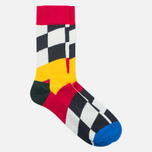 Носки Happy Socks Royal Enfield Big Flag Limited Edition Blue/Green/Red/White/Yellow фото- 1