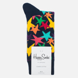 Носки Happy Socks Stars Blue/Green/Orange/Pink/Purple/Yellow фото- 0