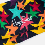Носки Happy Socks Stars Blue/Green/Orange/Pink/Purple/Yellow фото- 2