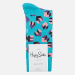 Носки Happy Socks Steps Black/Blue/Pink/Purple фото- 0