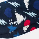 Носки Happy Socks Storm Blue/Purple/Red/White фото- 2