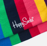 Носки Happy Socks Stripe Blue/Green/Pink/Purple/Red/Yellow фото- 2