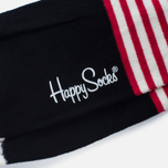 Носки Happy Socks Stripe Dot Black/Green/Red/White/Yellow фото- 2
