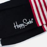 Носки Happy Socks Stripe Dot Black/Green/Red/White/Yellow фото- 2