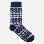 Носки Happy Socks Temple Blue/Pink/Purple/White фото- 1