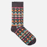 Носки Happy Socks Temple Brown/Orange/Turquoise фото- 1