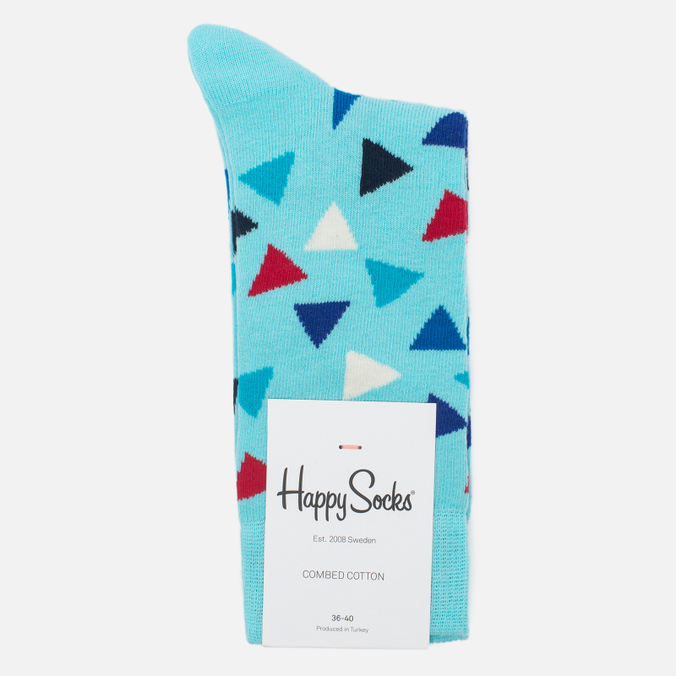 Носки Happy Socks Triangle Blue/Red/White