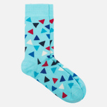 Happy Socks Triangle Socks Blue/Red/White photo- 1