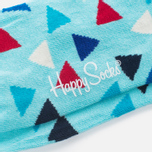Happy Socks Triangle Socks Blue/Red/White photo- 2