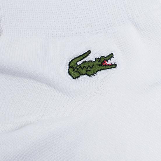 Комплект мужских носков Lacoste 3-Pack Sport Low-Cut White