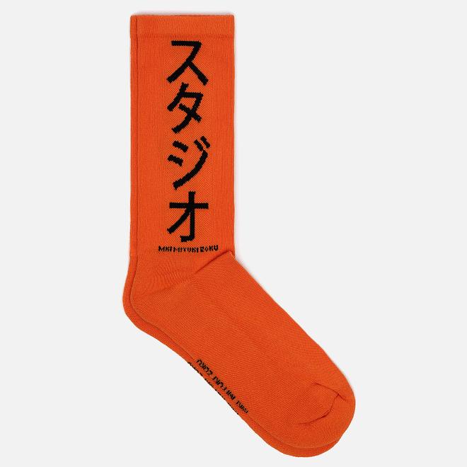 Носки MKI Miyuki-Zoku Symbol Orange