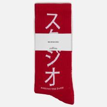 Носки MKI Miyuki-Zoku Symbol Red фото- 1