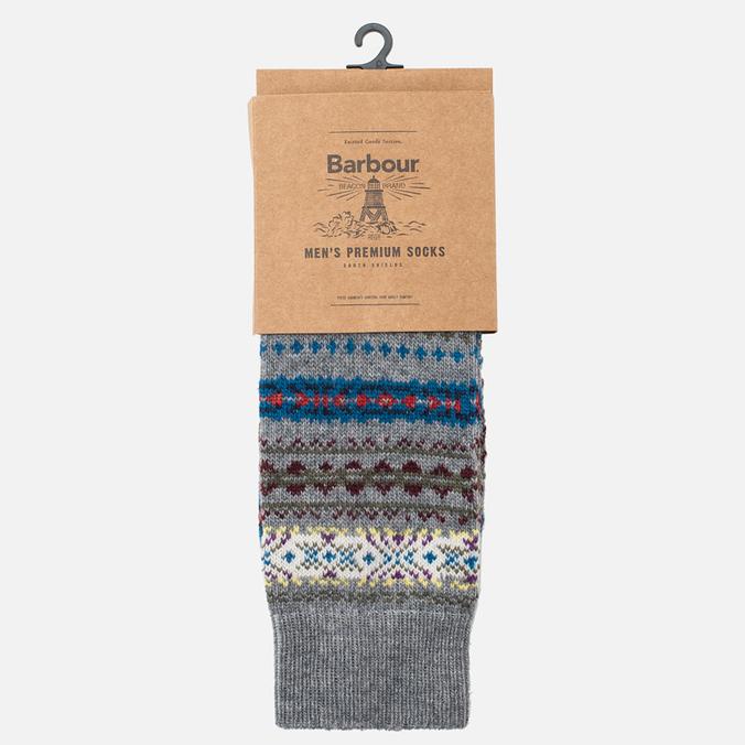 Мужские носки Barbour Boyd Grey Mix