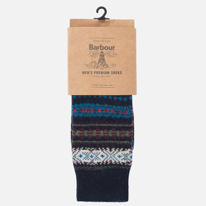 Barbour Boyd Men's Socks Navy Mix