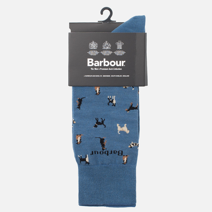 Мужские носки Barbour Mavin Chambray/Dog