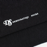 Мужские носки Democratique Socks Originals Sneaker Low 3-Pack Black фото- 1