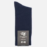 Мужские носки Democratique Socks Originals Solid Navy фото- 0