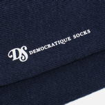 Мужские носки Democratique Socks Originals Solid Navy фото- 2