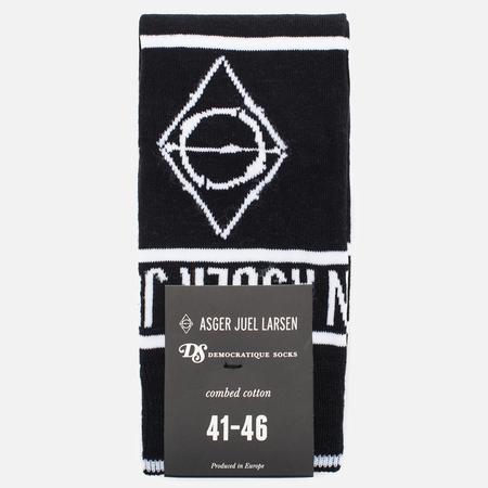 Democratique Socks x Asger Juel Larsen Men's Socks Black/White