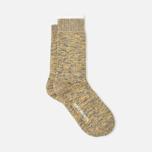 Norse Projects Bjarki Blend Men's Socks Mustard Yellow photo- 1