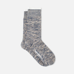 Мужские носки Norse Projects Bjarki Blend Navy фото- 1