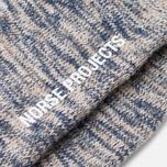 Мужские носки Norse Projects Bjarki Blend Navy фото- 2
