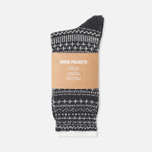 Мужские носки Norse Projects Bjarki Winter Charcoal фото- 0