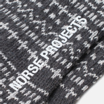 Мужские носки Norse Projects Bjarki Winter Charcoal фото- 2