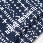 Мужские носки Norse Projects Bjarki Winter Navy фото- 2