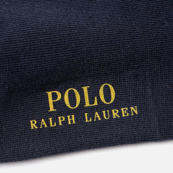 Носки Polo Ralph Lauren Crest And Bears Crew Single Cruise Navy/College Green