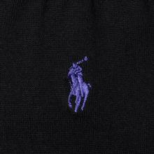 Носки Polo Ralph Lauren Mercerized Cotton Flat Knit Black фото- 2