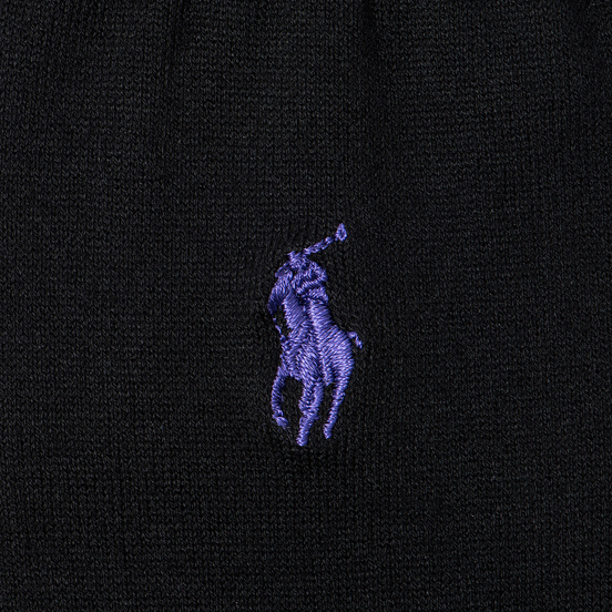 Носки Polo Ralph Lauren Mercerized Cotton Flat Knit Black
