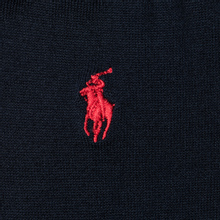 Носки Polo Ralph Lauren Mercerized Cotton Flat Knit Navy фото- 2