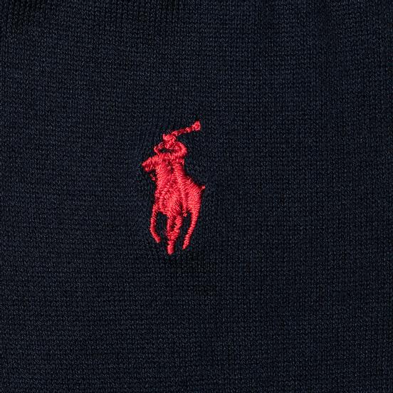 Носки Polo Ralph Lauren Mercerized Cotton Flat Knit Navy