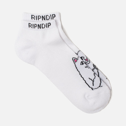 Носки RIPNDIP Lord Nermal Ankle White