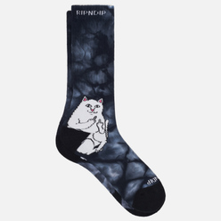 Носки RIPNDIP Lord Nermal Black Tie Dye