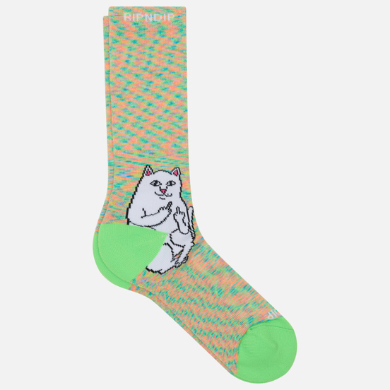 Носки RIPNDIP Lord Nermal Neon Speckle