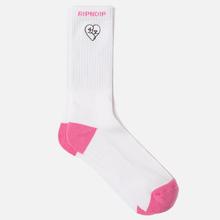 Носки RIPNDIP Love Nerms White/Pink фото- 1