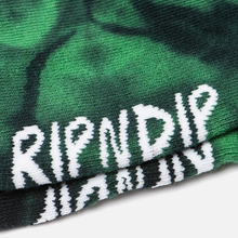 Носки RIPNDIP Pill Mid Green Spiral Tie Dye фото- 2