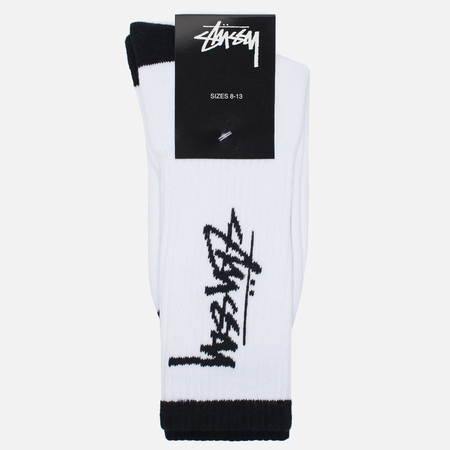 Носки Stussy Stock Premium White