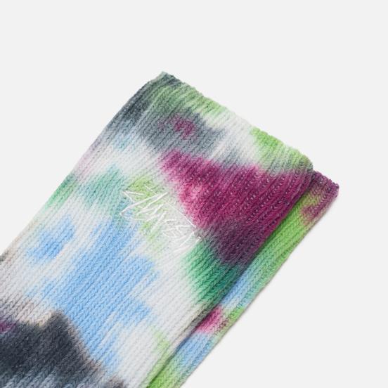 Носки Stussy Tie Dye Blue