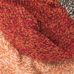 The Hill-Side SX2 Men's Socks Salt & Pepper/Red/Orange photo- 3