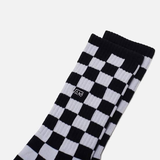 Носки Vans Checkerboard Crew Black/White