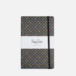 Блокнот Happy Socks Dots Black (240 pgs) фото- 0