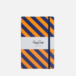 Блокнот Happy Socks Stripe Orange/Purple (240 pgs) фото- 0