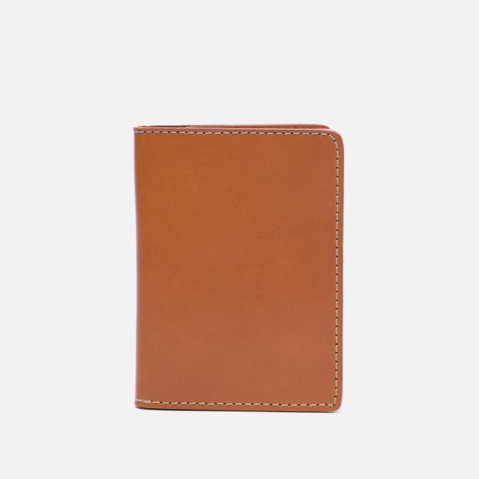 Обложка для паспорта Filson Passport & Card Case Tan Leather